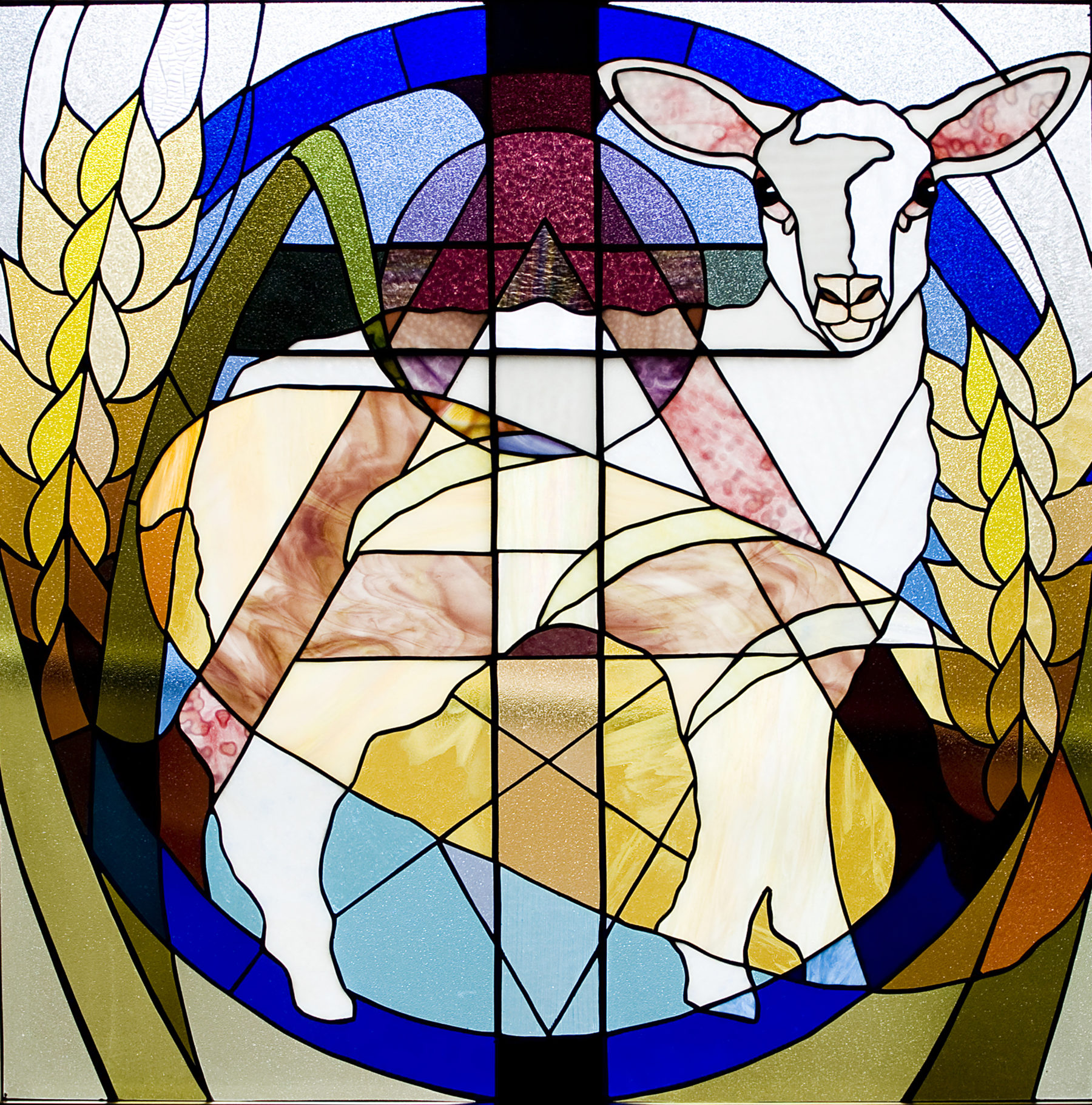 Eucharist Bread Window